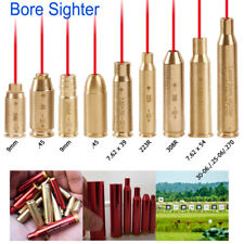 Us Cartridge Red Dot Laser Bore Sight Cal Boresighter Sighter For Rifle Shooting