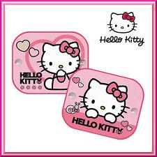 2 X Ventana De Hello Kitty Coche Sun Shades persianas de protección UV Niños Niños Bab Nuevo