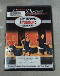 JODI STOLOVE'S Chair Dancing® Fitness Sit down and Tone up Encore ~ 2011 DVD