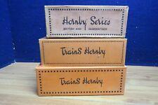 HORNBY PREWAR O TANK CAR X 2 & STOCK WAGON EMPTY BOXES X 3 578966