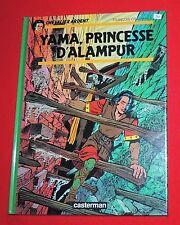 CRAENHALS. Chevalier Ardent. Yama Princesse d'Alampur. Casterman 1989.