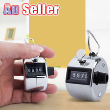 4 Digit Manual Sale Hand Held Number Clicker Tally Counter High Quality