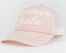 BILLABONG Women's ALOHA FOREVER SUMMER BABE Trucker Cap Hat $25 Snapback