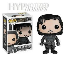 FUNKO POP TELEVISION GAME OF THRONES JON SNOW CASTLE BLACK 26