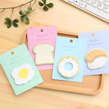Cute Egg Bread Sticker Post It Bookmark Marker Memo Pads Index Flag Sticky Notes