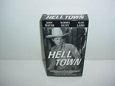 Hell Town VHS Video Tape Movie John Wayne