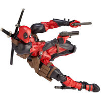 Amazing Marvel Revoltech DEADPOOL X-Men Action Figure Toy Gift New 2020