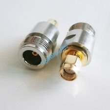 1x N female jack to RP-SMA male Plug RF coaxial adapter connector