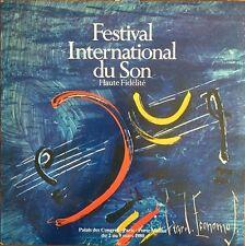 Festival international du son 1980 - Vinyl LP 33T