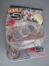 New! GX Racers Skate SK8 Bench Traditionz 56mm Deck Plate Starter Set Ages 6+