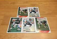 DAVE CADIGAN LOT OF 5 FOOTBALL CARDS NEW YORK JETS GUARD USC TROJANS
