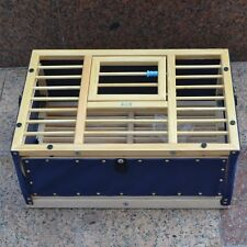 1Wood Pigeon Training Transport Basket folding Collapsing cages