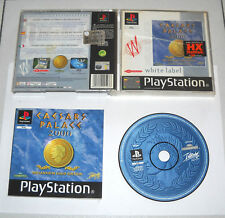PS1 Playstation 1 - CAESARS PALACE 2000 Millennium Gold Edition ITA PAL Psone
