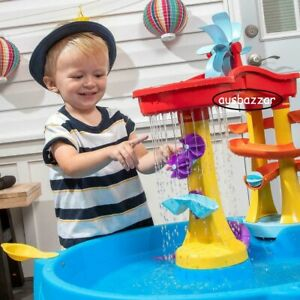 Water Table with 13 Piece Accessories For Toddlers Kids Interactive Social Play