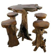 Teak Piece Table & Chair Sets 5