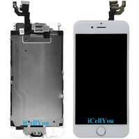 """White LCD Touch Screen Display Digitizer Assembly for iPhone 6 4.7"""" + Tool Kit"""