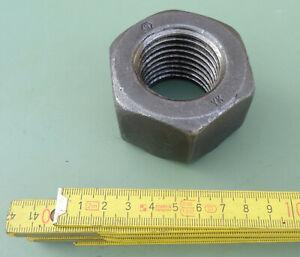 Mutter Gewinde M45 x4,5 Regelgewinde Stahl blank Muttern für Gewindeschrauben