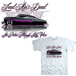 Lowrider T-Shirt Vintage Custom  PinStripe Hot Rod Oldtimer Kustom *1061