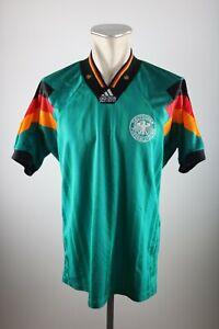 Germany Jersey DFB Size M 1992-1994 Away Shirt adidas Jersey 90s Green
