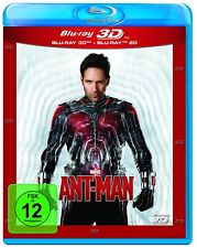 ANT-MAN (Paul Rudd) Blu-ray 3D + Blu-ray Disc NEU+OVP