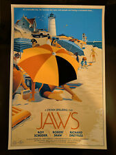 Laurent Durieux Jaws Mondo poster print