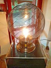 TABLE LAMP VENINI. CHROME BASE. BIG ITEM. 1960 SPACE AGE DESIGN