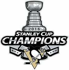 Pittsburgh Penguins 2016 Stanley Cup Champions NHL Decal/Sticker