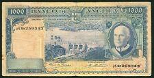 Angola 1000 escudos 1970.06.10. Americo Tomas & Das Mabubas Dam P98 F