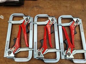 Bessey Germany GH20 All Steel Lever Clamp 200/100 Six Pack RRP £297.07
