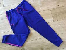 GIRLS Pink Purple UNDER ARMOUR Joggers TRACKSUIT BOTTOMS (age12-13) *L@@K*