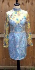 Lace Stretch Blue Dresses for Women