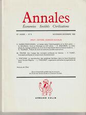 Annales Economies Sociétés Civilisations Nov/Déc 1992  Boureau-Teubner-Troper