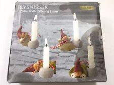 Christmas Pixies Trip Trap Miniatures Rikki Tikki Hjalte, Kalle, Sila & Stinus