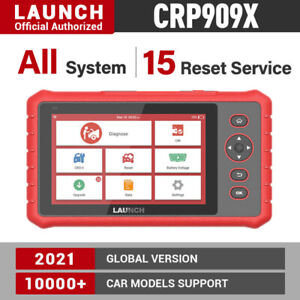 LAUNCH X431 CRP909X PRO Auto Full System Diagnostic OBD2 Scanner Code Reader