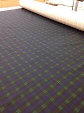 Tartan cotton fabric-Blackwatch print-Upholstery-Christmas Table-Dog Coats