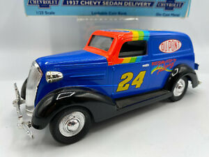 Spec Cast Liberty Jeff Gordon 1937 Chevy Chevrolet Sedan Delivery 1/25 Coin Bank