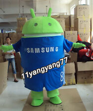 Custom Logo Mascot Android Robot Costume Character Fancy Suit 4 Sale Outfit EPE