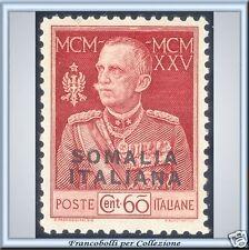 Colonie 1925 Somalia Giubileo n. 67 Dent. 11 Diena **