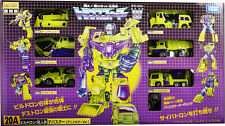 Takara Tomy Comic Con Transformers Encore 20A Construction Devastator TF20A set