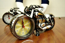 1PCS European Motorcycle Shape Alarm Clock Home Decoration Cool Motorcycle Model