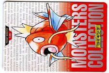POKEMON BANDAI 1996 RED MONSTERS COLLECTION N° 129 MAGIKARP MAGICARPE