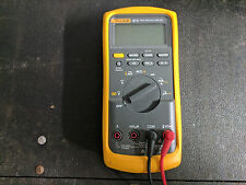 FLUKE 87V TRUE RMS MULTIMETER WITH TEST LEADS