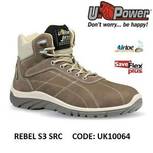 Upower Scarpa da lavoro antinfortunistica REBEL S3 SRC U-POWER UK10064