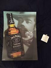 Jack Daniel Black White Light Canvas Wall A2 A1 A0 Large Gift Present OC0297