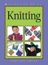 Knitting (Kids Can Do It) by Sadler, Judy Ann, Good Book