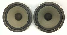 "Pair of 1970's Vintage Woofer Speakers Sanyo 8435 8"" Diameter 8 Ohm Ssg-100"