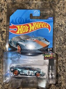 Hot Wheels 2020 STH Super Treasure Hunt Ford GT-40 Gulf With Protector