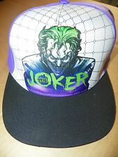 NEW DC Comics Originals BATMAN / THE JOKER Adjustable Back Men's Hat / Cap
