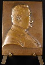Medaille 1912 Alphonse Deville Conseil municipal de Paris sc Prud'homme medal