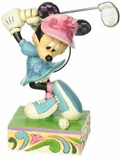 Disney Traditions Minnie Mouse Golfing Figurine by Jim Shore